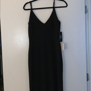 Lulus Black Full Length Gown